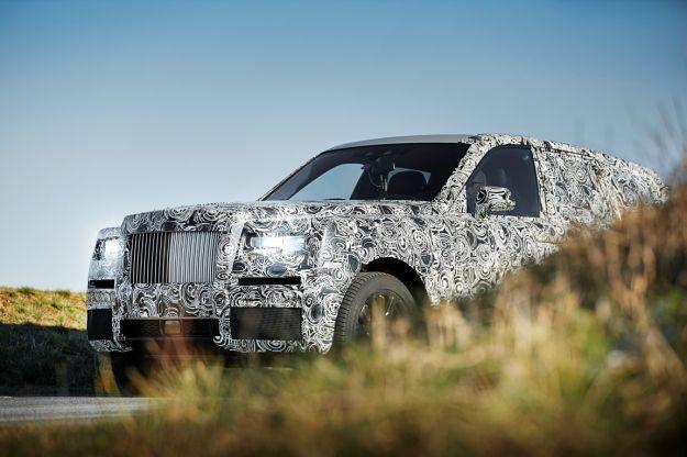 suv Rolls Royce, progetto Cullinan