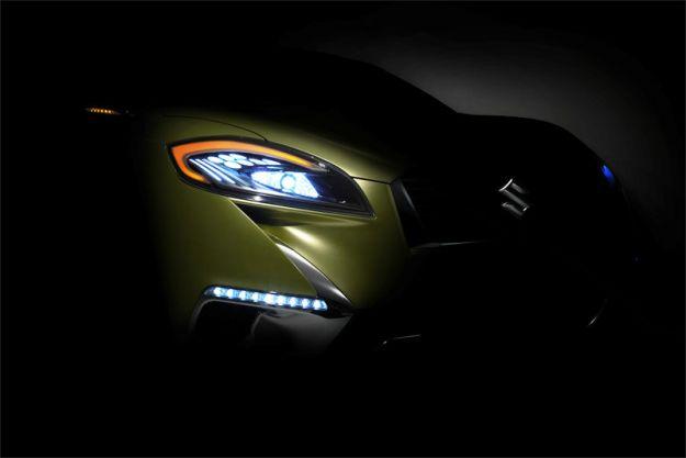 Suzuki SX4: la sua erede S-Cross al Salone di Parigi 2012