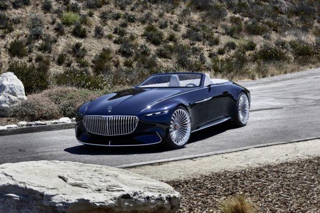 Mercedes-Maybach Vision 6 Cabriolet: una convertible elettrica dal look retrò [FOTO]