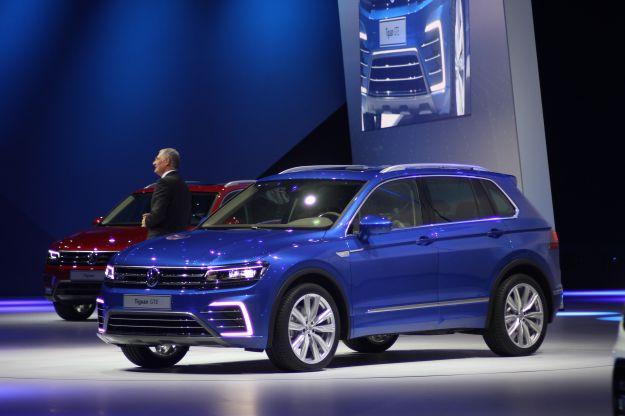Volkswagen Tiguan GTE Concept: ibrida plug-in al Salone di Francoforte [FOTO]