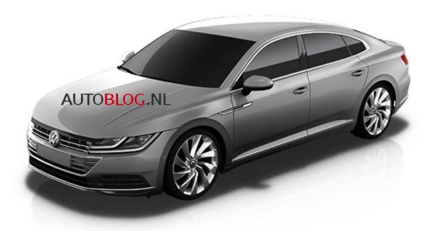 Volkswagen CC 2018: le foto spia senza camuffature della coupé tedesca [FOTO]
